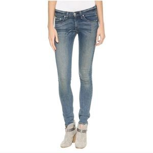 Rag & Bone Skinny Monument Jeans Size 25